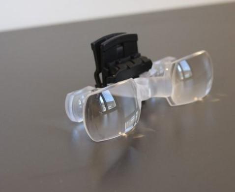 עדשות עם קליפס להרכבה על משקפיים קיימים